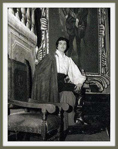 Don Alvaro - LA FORZA DEL DESTINO - di G. Verdi -  (Napoli 1958)