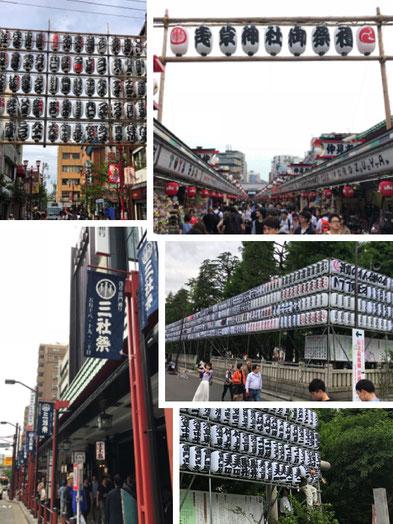 三社祭, 浅草神社, 報道説明会, 本社神輿渡御図