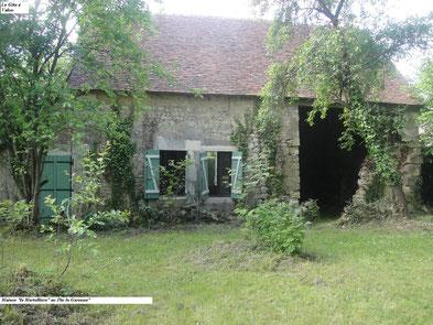 Maison avant travaux située dans le Perche au Pin la Garenne