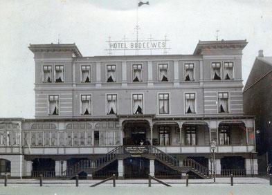 Hotel Bodeewes im Jahr 1892