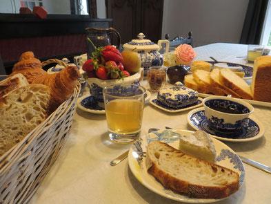 Desayuno en L'Echappée Belle