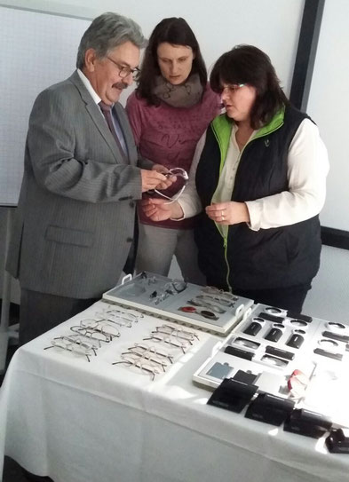 Referent Bernd Papsdorf, Ricarda Barg & Heike Wocuznack