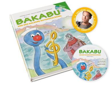 Hörbuch: Bakabu und der Goldene Notenschlüssel, gelesen von Christian Tramitz