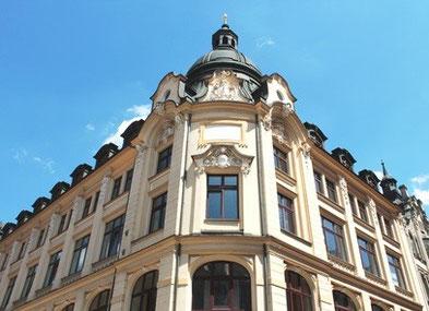 historisches Stadthaus, denkmalgeschützt