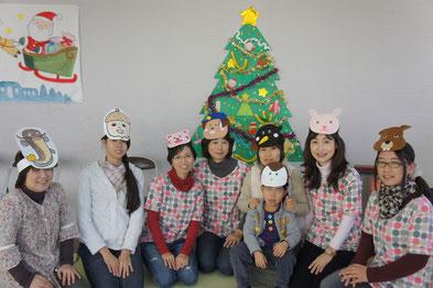 クリスマス会 12月16日 星田西3丁目集会所