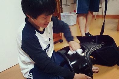 中学生用 剣道防具一式