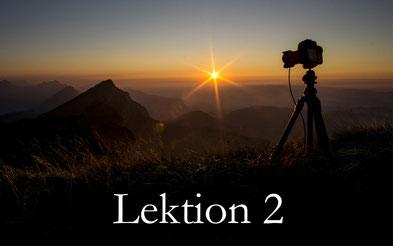 kostenloser Fotokurs online - Lektion 2 - bewusst fotografieren