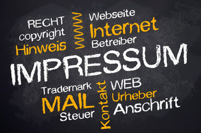 Website, Recht, Betreiber, Copyright, Impressum, Recht, Urheber, Anschrift