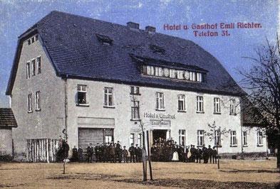 """Hotel und Gasthof """"Zum Reichsadler""""."""