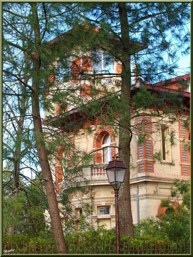 La villa Alexandre Dumas en Ville d'Hiver à Arcachon