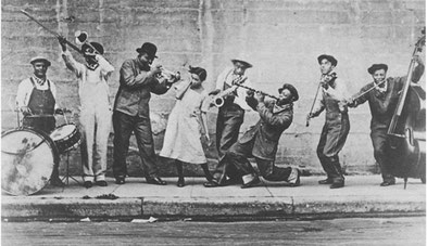 King Oliver´s Jazz Band ca. 1921