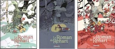 """Retrouvez Renart et Ysengrin dans """"Le roman de Renart"""", BD éditée chez Delcourt"""