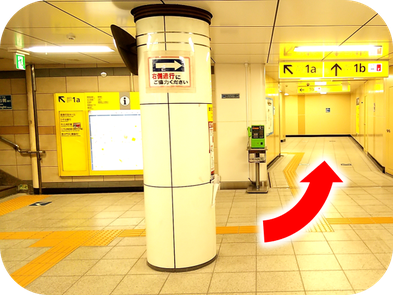 Shinjuku-Kagurazaka-therafit-body-care-station-premises-to-elevator-directions-to-the-store