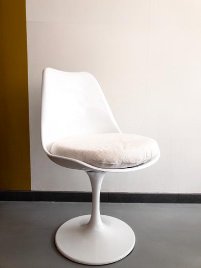 Nieuwste aanwinst, de Tulip Chair.