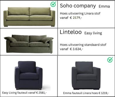 Linteloo Easy living  Soho Company Emma