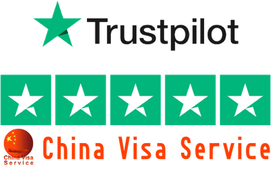 China Visa Service Trustpilot 5 Sterne