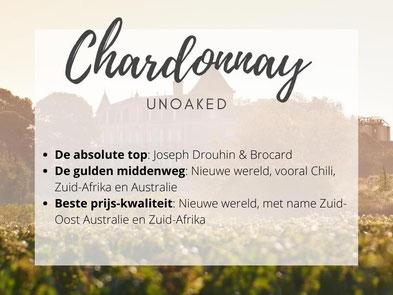 Chardonnay zonder houtrijping