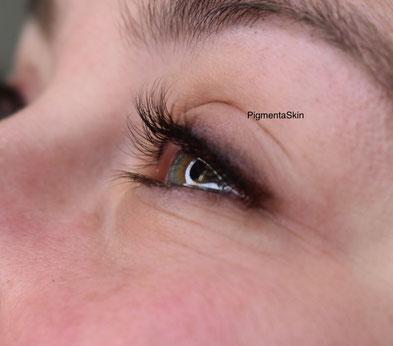 Permanent Make up Augen, Lidstrich mit Schattierung bei Pigmenta Skin