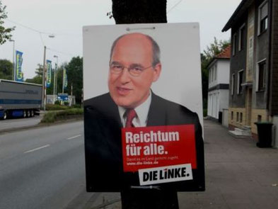 Die Linke's 'grand old man' Gregor Gysi