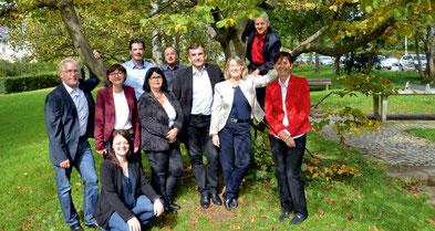 Qualifizierte und langjährige MitarbeiterInnen - das gut-Team