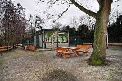 Unsere Vereinseigene Boule-Anlage an der Rumohrtalstraße