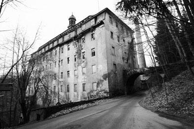 Baumwollspinnerei Höffner / Baujahr 1833 - einer der ersten Textilfabriken in Sachsen