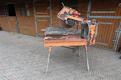 Van Voorden Roma Steenzaagmachine