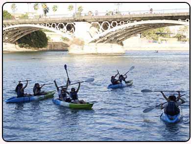 alquiler de kayak huelva