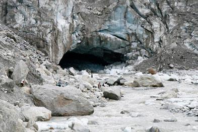 Gaumukh - Glacier Quelle des Ganges
