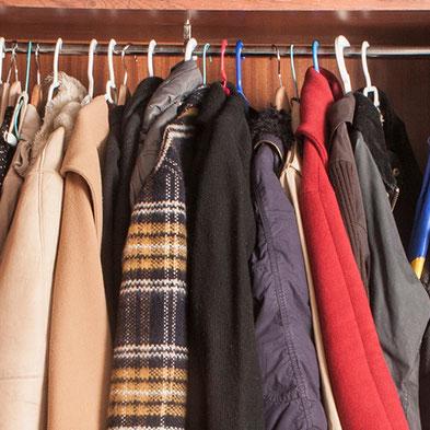 Organiza los abrigos para el invierno - AorganiZarte