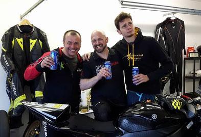 YaKa-Racing - Chri, Holger und da Scheini
