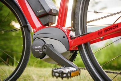 Bosch Drive Units in der e-motion e-Bike Welt Hannover