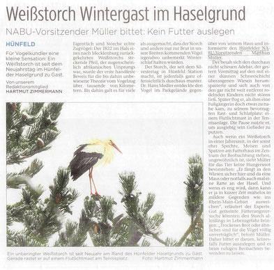 Hünfelder Zeitung vom Dienstag, 3. Jan. 2017