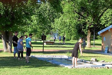 Abenteuer-Minigolf im Kurpark Bad Bellingen