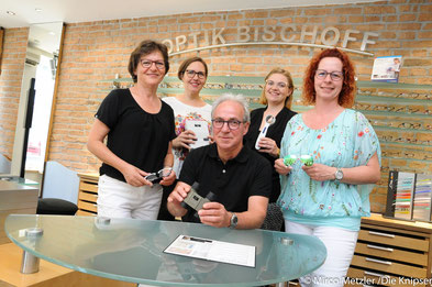 Das Team Optik Bischoff.