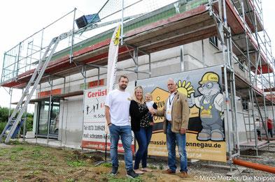 Die Firma Massivhaus Wonnegau baut das Reich der Familie Wochnik in Flörsheim-Dalsheim