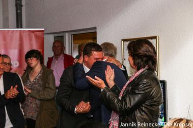 Marcus Held konnte Metzler zwar nicht schlagen, aber kann trotzdem über die Landesliste in den Bundestag einziehen.