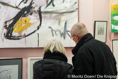 Die Ausstellung war so begehrt, dass das kleine Museum den Andrang kaum bewältigen konnte