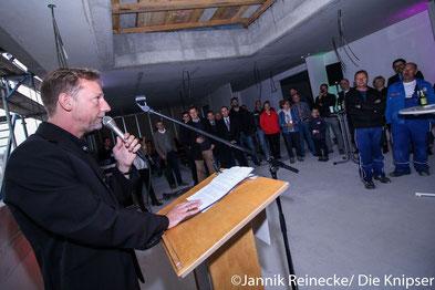 Tilo Weisbrod bei seiner Rede