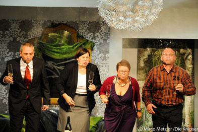 """""""Frisch verlügt"""", das neue Theaterstück der TG Osthofen, dreht sich rund um das Dienstmädchen Elvira."""