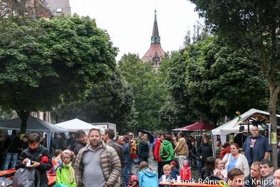 Das Wasserturmstraßenfest war wie immer und trotz des schlechten Wetters sehr gut besucht.