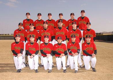 La squadra Falcons della Skyline High School 2009 Colorado - Il quarto in piedi da sx è Federico Castagnini partito con il Programma Exchange