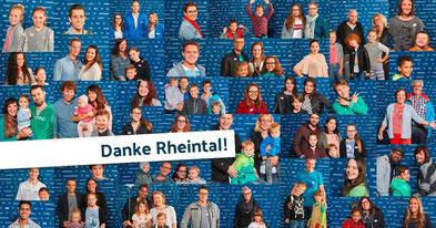 Zahlreiche Besucher am Casting von Rheintal.com