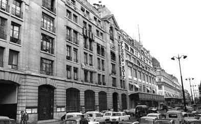 France-Soir, rue Réaumur, journal à grand tirage des années soixante