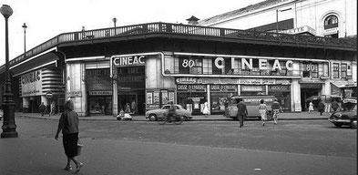 Cinéac Montparnasse dans l'ancienne gare