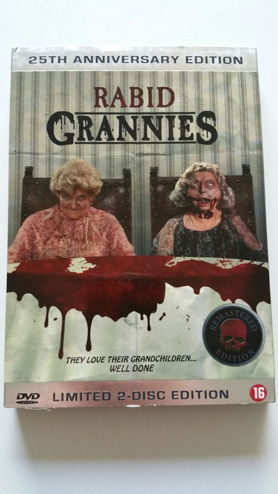 Rabid Grannies 25th anniversary edition DVD