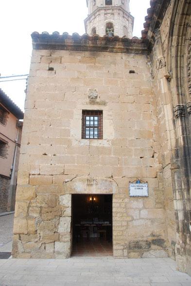 Oficina y tienda de la Cofradía en Mosqueruela