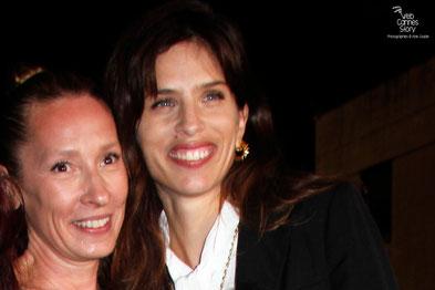 Emmanuelle Bercot et Maïwen lors de la clôture du Festival de Cannes 2015 - Photo © Anik COUBLE