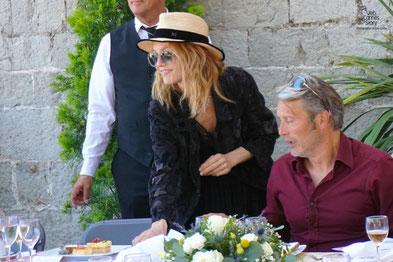 Sophie Marceau, membre du Jury lors du traditionnel déjeuner de presse, offert par le maire de Cannes - Festival de Cannes 2015 - Photo © Anik COUBLE