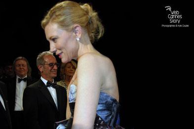 """Cate Blanchett pour """"Carol""""de Todd Haynes -  Festival de Cannes 2015 - Photo © Anik COUBLE"""